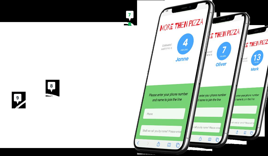 Online Line Management Platform